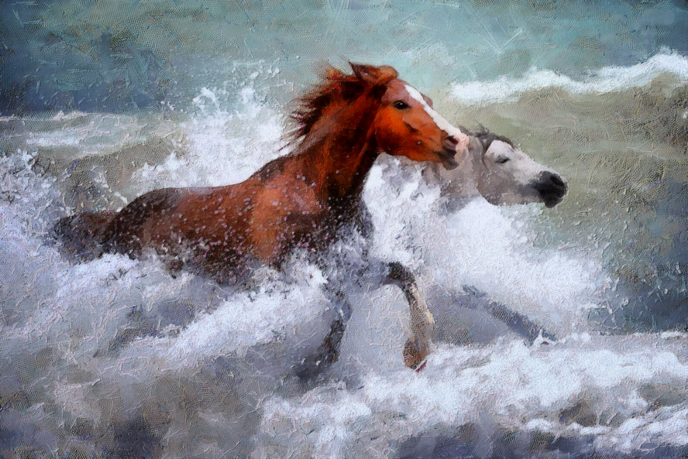 Horses in the Surf DAP_Camille.jpg