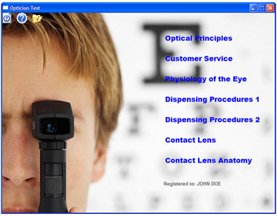Licensed Optician Study Guide